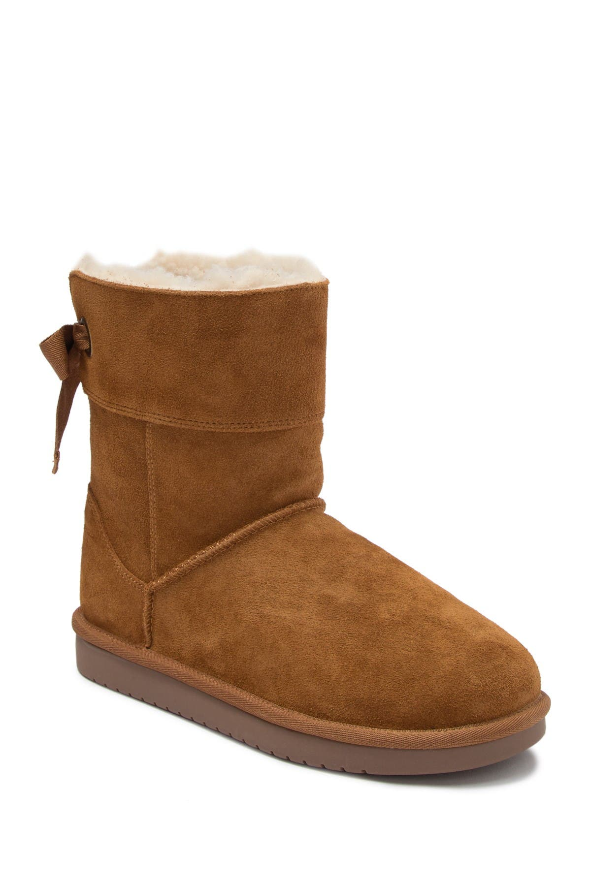 Image of KOOLABURRA BY UGG Andrah Suede Faux Fur Lined Short Boot