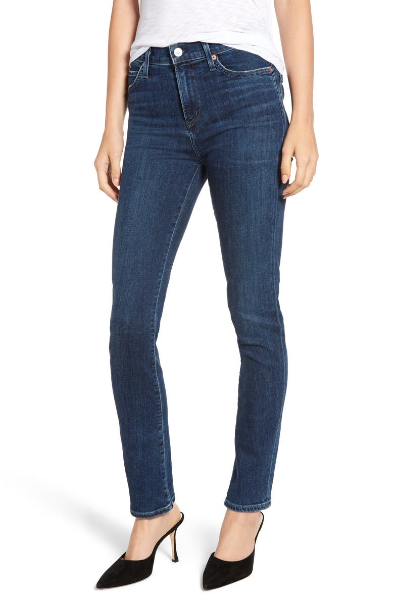 CITIZENS OF HUMANITY Sculpt - Harlow High Waist Skinny Jeans, Main, color, CARMEL