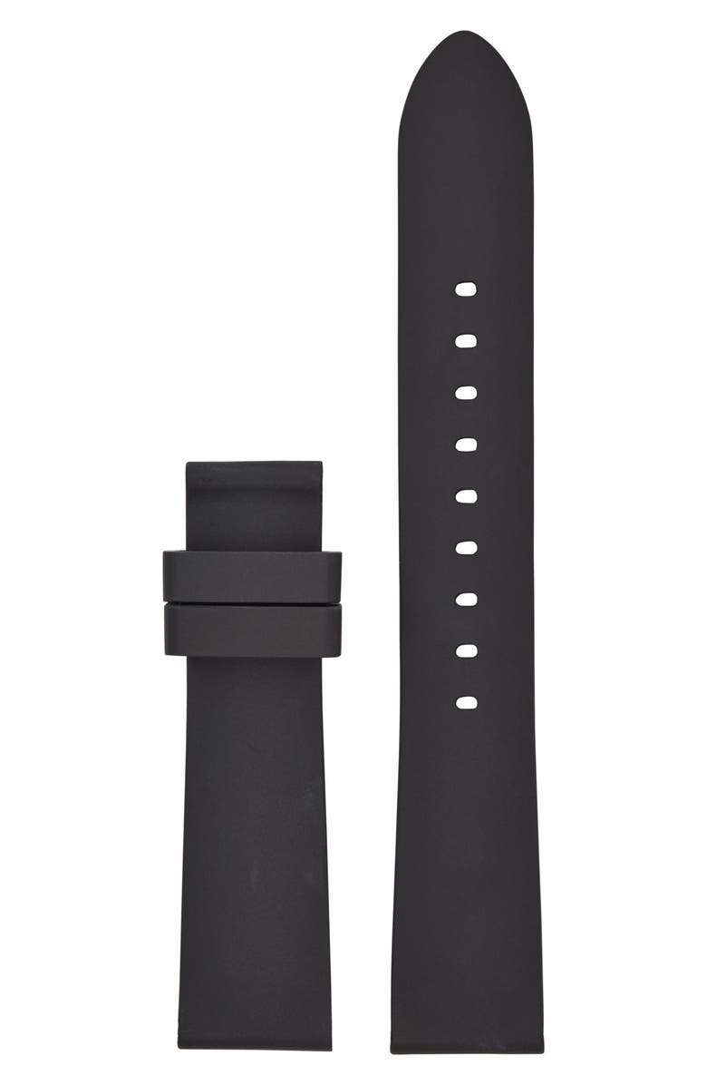 MICHAEL KORS MICHAEL Michael Kors Runway Smart Watch Silicone Watch Strap, Main, color, 001