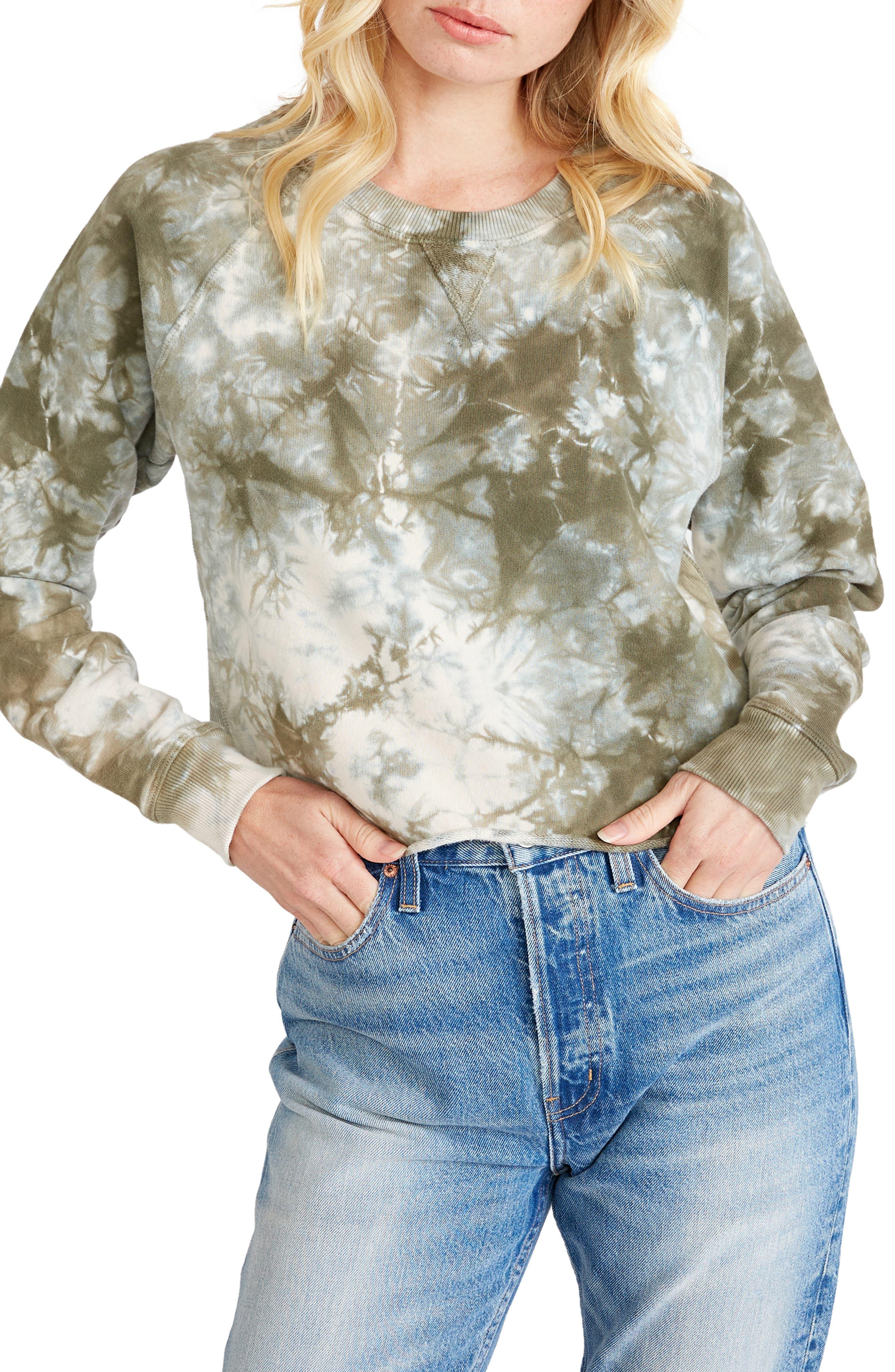 Women's Etica Yara Crop Raglan Sweatshirt