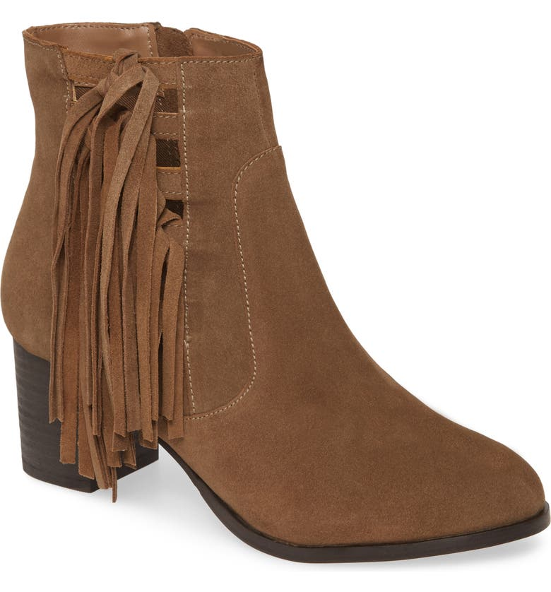 COCONUTS BY MATISSE Stroll Through Bootie, Main, color, OLIVE SUEDE