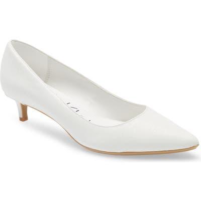 Calvin Klein Gabrianna Pump, White