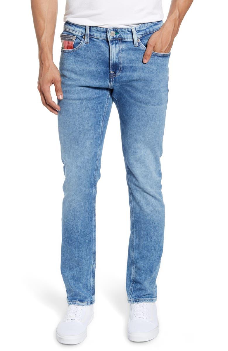 TOMMY JEANS Scanton Slim Fit Jeans, Main, color, 400