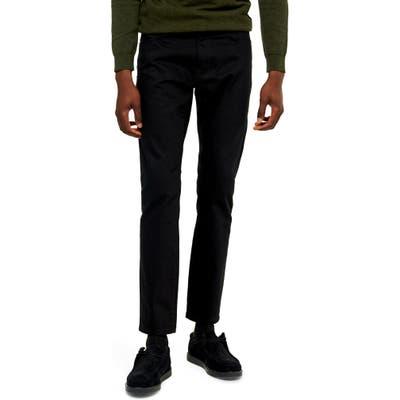 Topman Newstar Slim Fit Jeans, Black