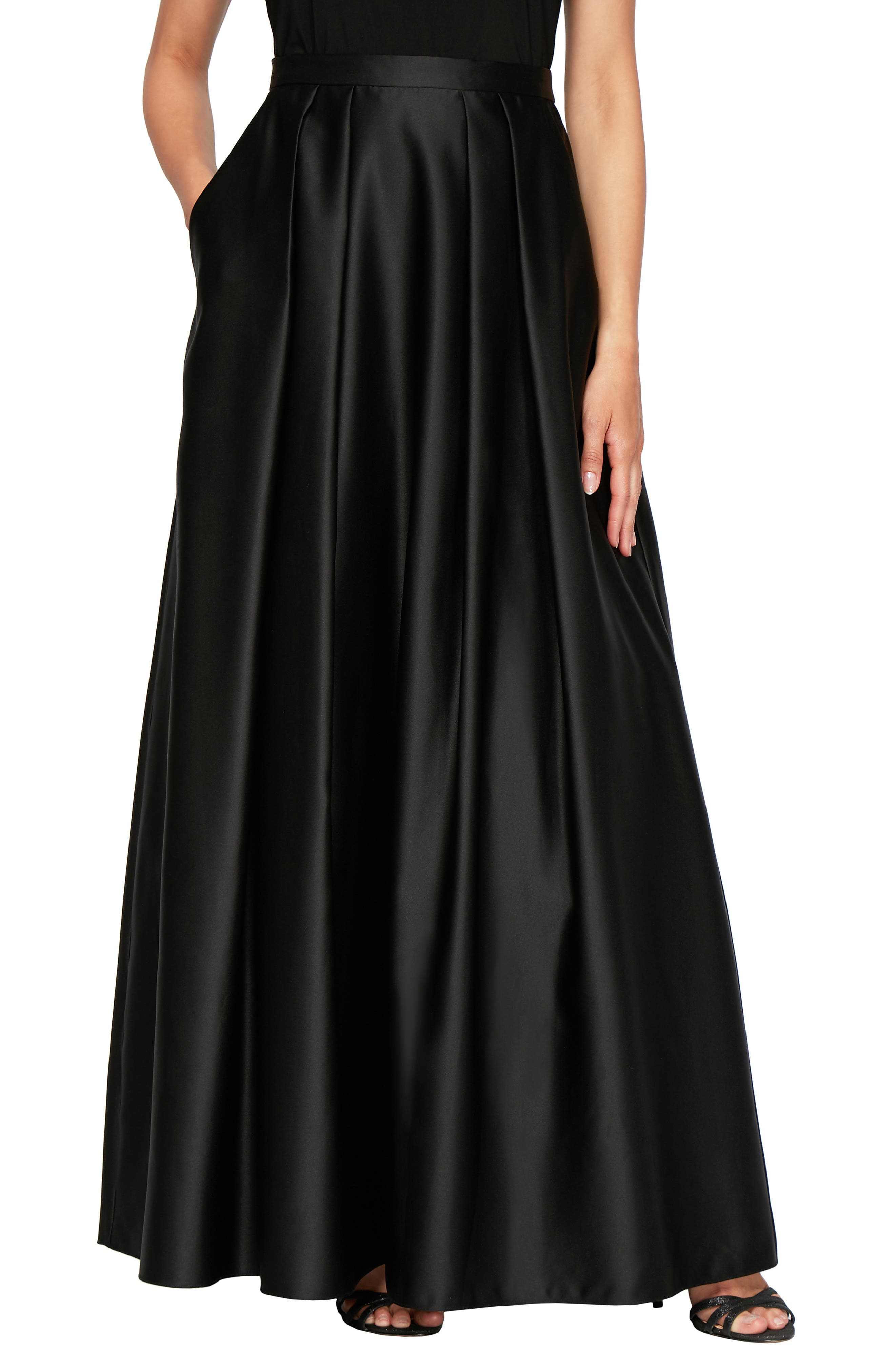 Satin Ball Skirt