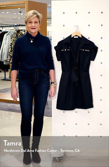 Mavel Stud Detail Shirtdress, sales video thumbnail