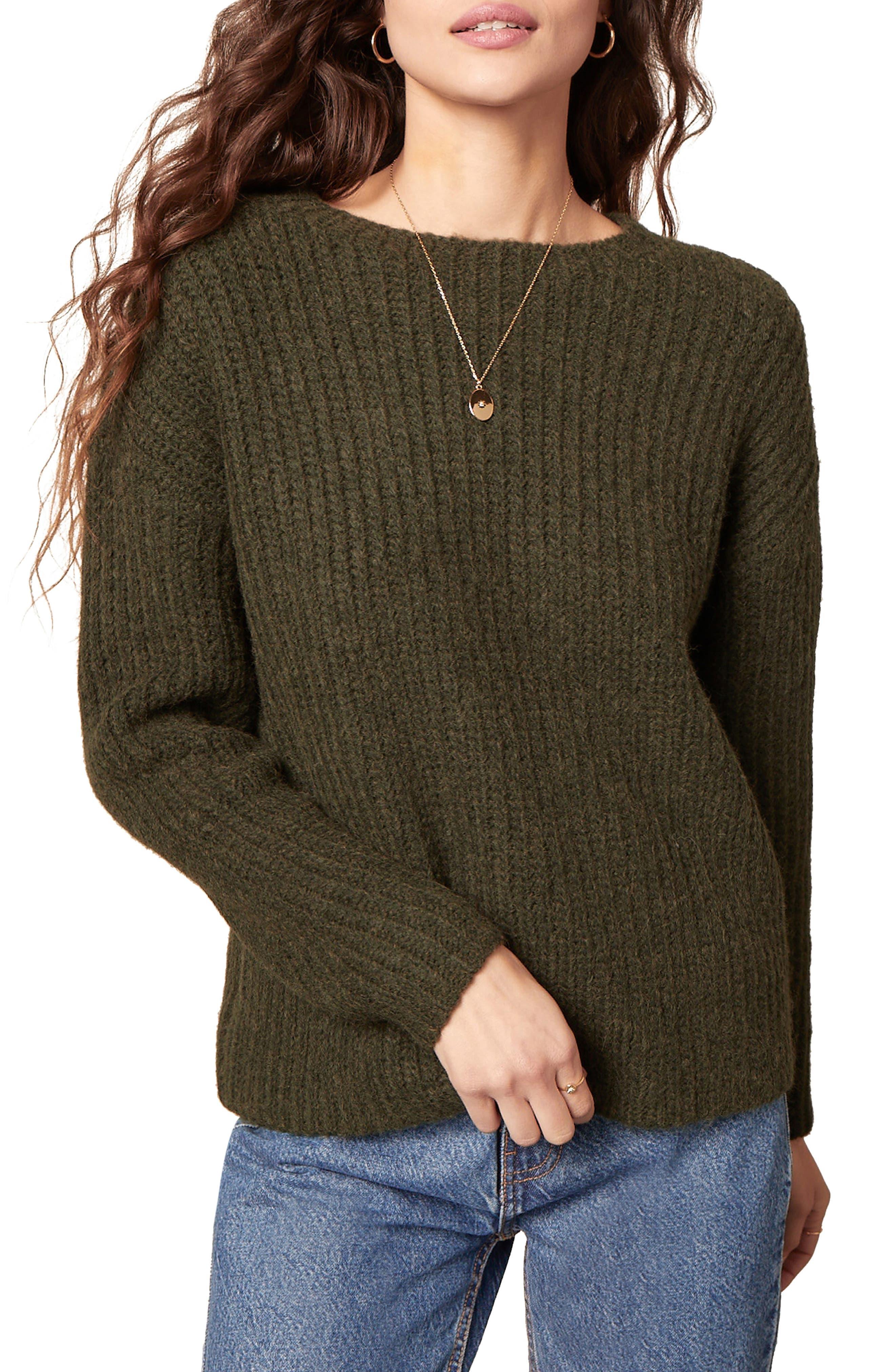 Women's Bb Dakota Knits A Look Crewneck Sweater