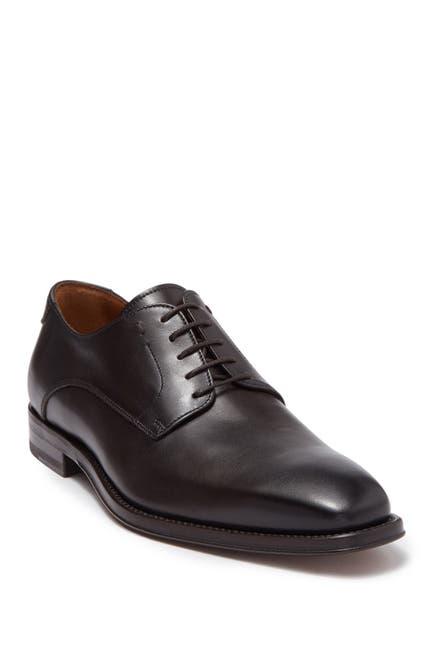 Image of Antonio Maurizi Plain Toe Leather Dress Shoe