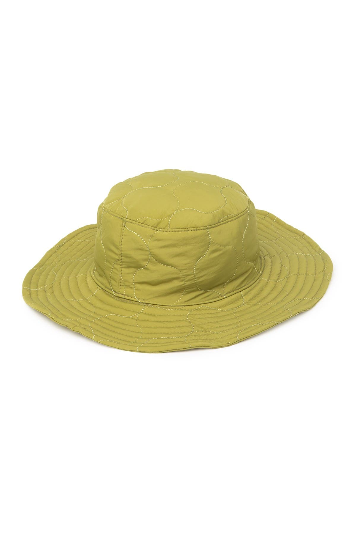 Image of Obey Juniper Quilted Logo Bucket Hat