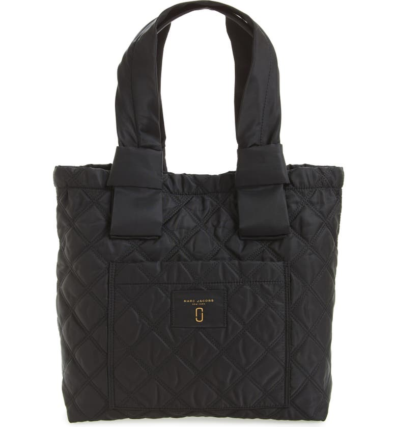 MARC JACOBS Knot Tote, Main, color, 001