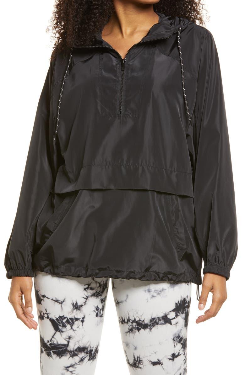 BP. Athletic Jacket, Main, color, BLACK