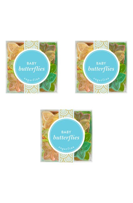 Image of SUGARFINA Baby Butterflies - Small Cube 3-Piece Kit