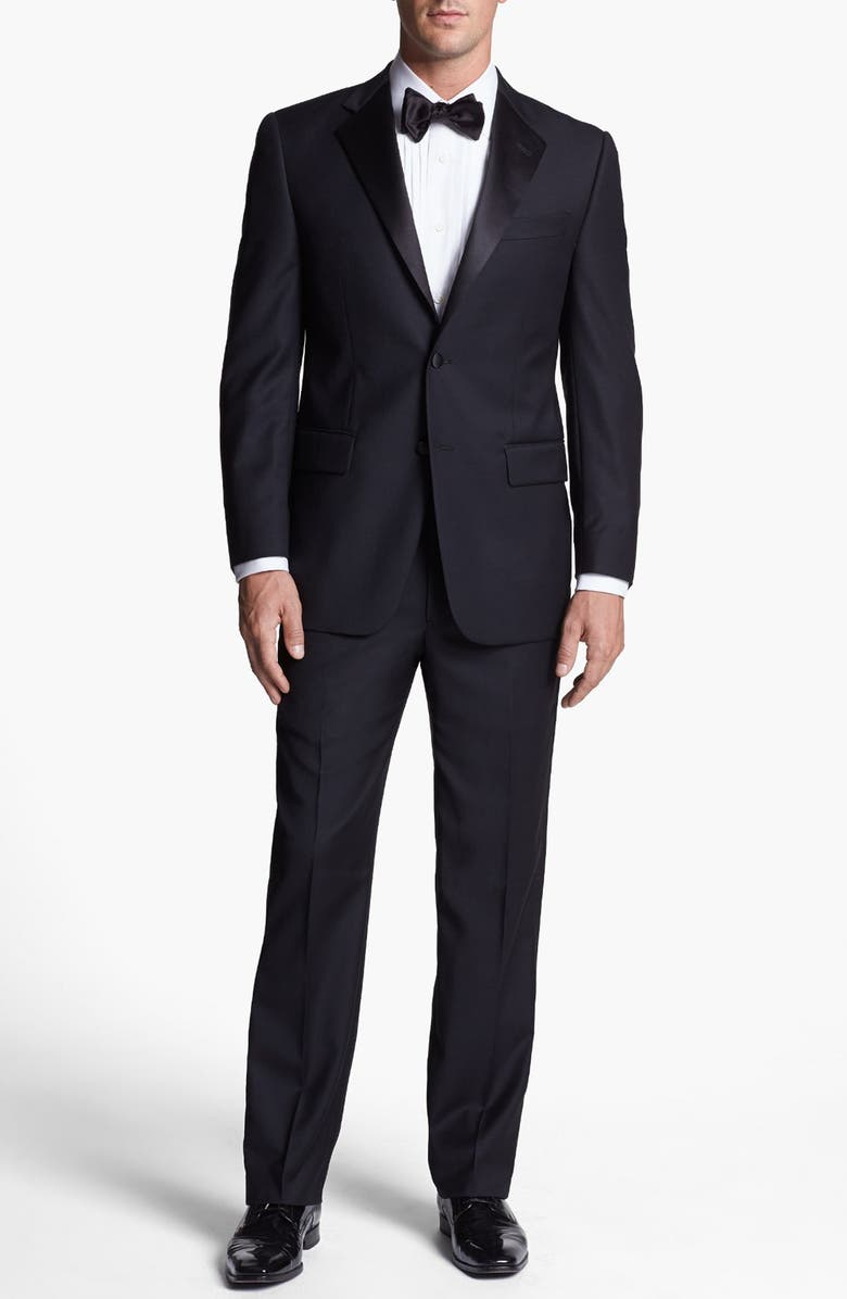 JOSEPH ABBOUD Classic Fit Tuxedo, Main, color, 001