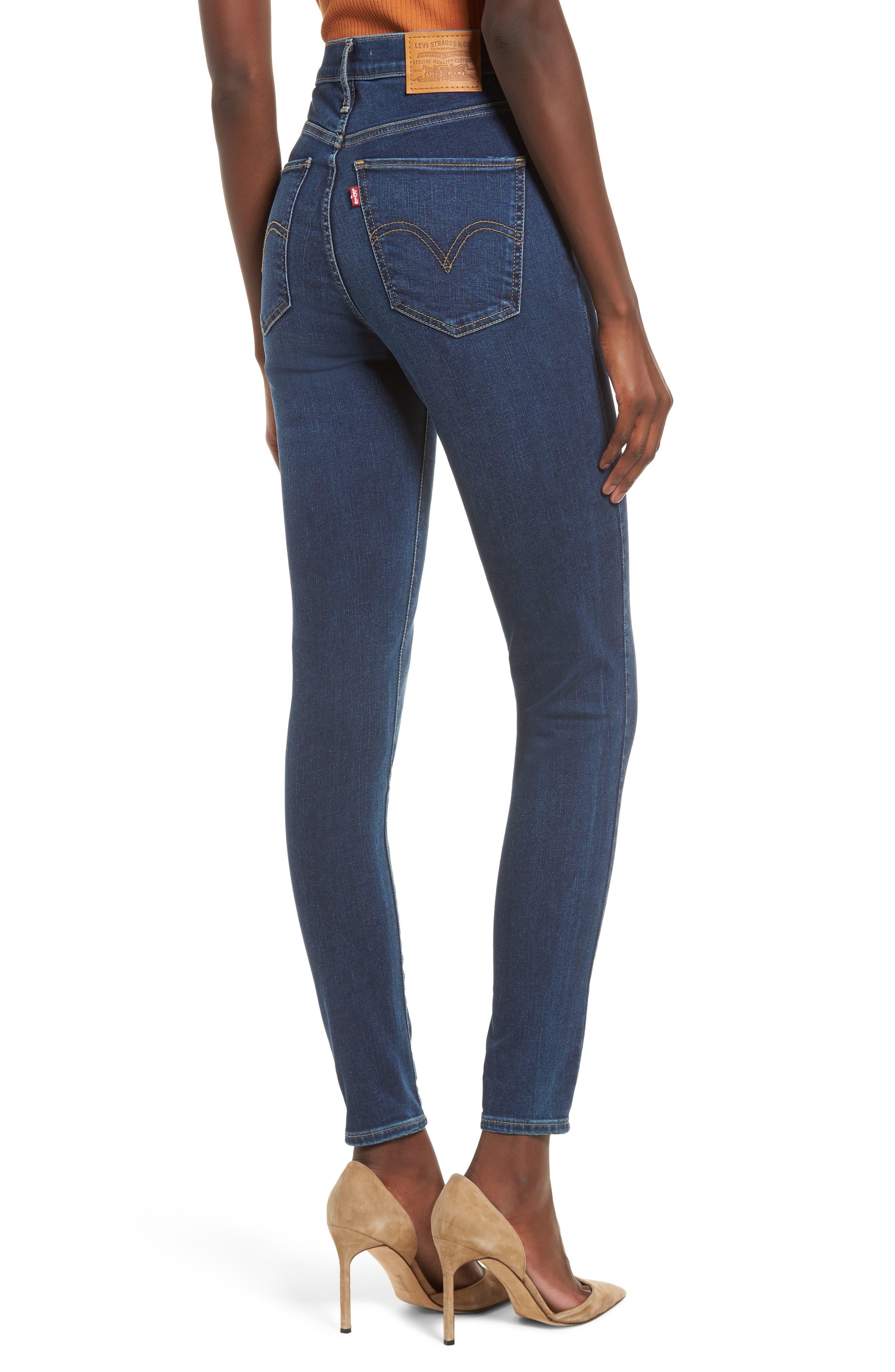 ,                             Mile High Super Skinny Jeans,                             Alternate thumbnail 2, color,                             420