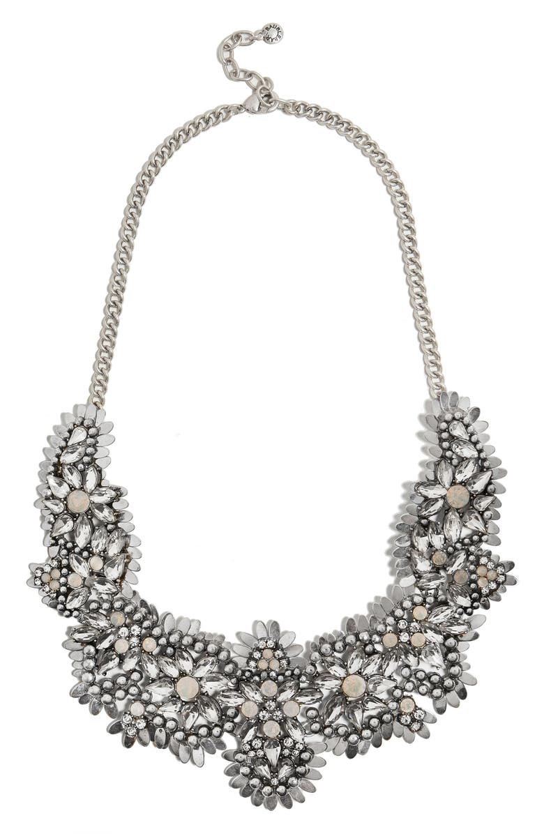BAUBLEBAR Ice Queen Crystal Statement Necklace, Main, color, 040