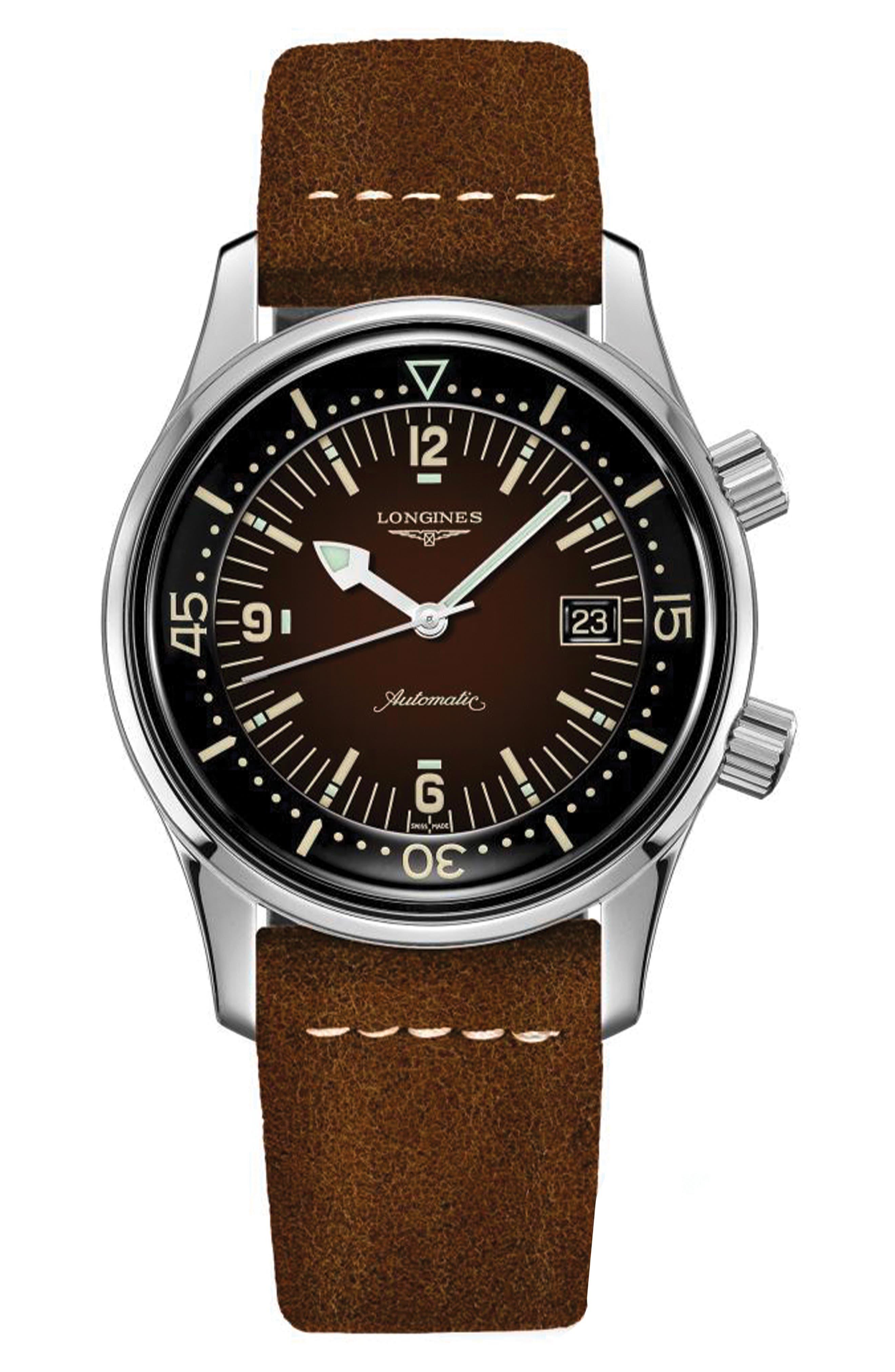 Legend Diver Automatic Strap Watch