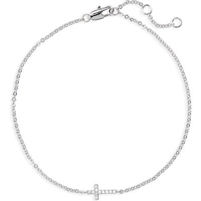 Nordstrom Tiny Cross Bracelet