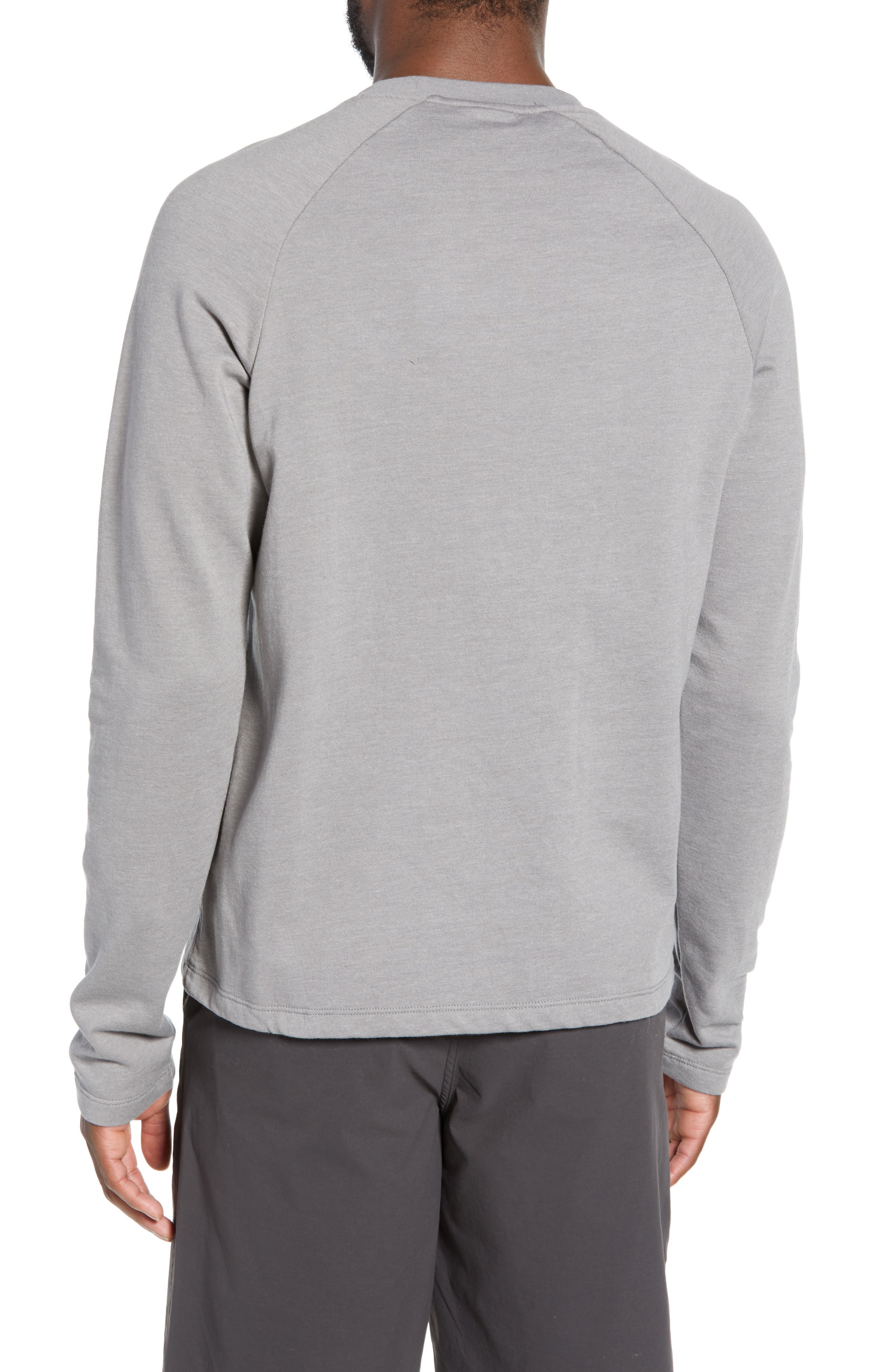 ,                             Fitz Roy Hex Logo Sweatshirt,                             Alternate thumbnail 2, color,                             FEATHER GREY