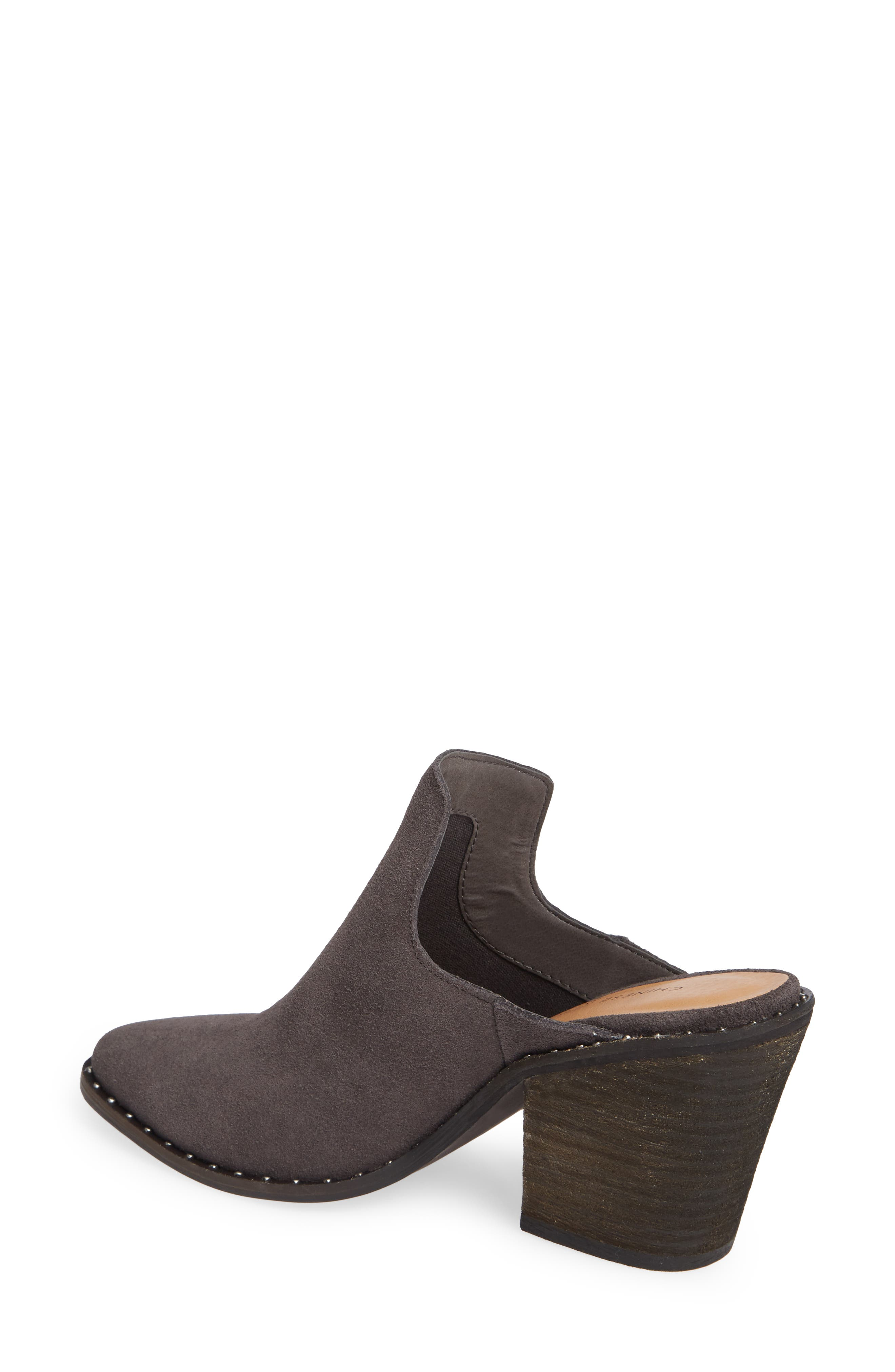 ,                             Springfield Mule Bootie,                             Alternate thumbnail 2, color,                             CHARCOAL SUEDE