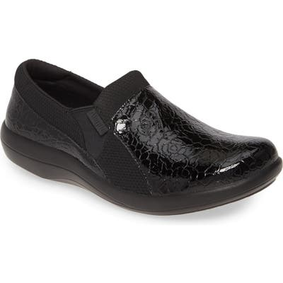 Alegria Duette Loafer,9.5- Black