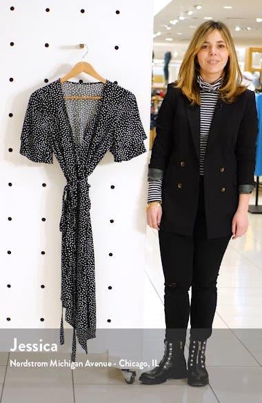 Ruffle Sleeve Wrap Dress, sales video thumbnail