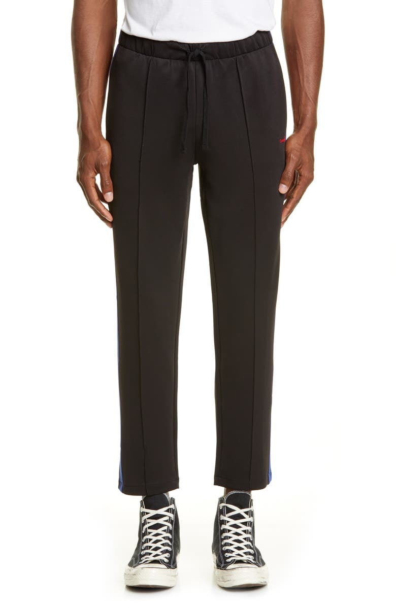 OVADIA & SONS Track Pants, Main, color, BLACK/ BLUE/ RED
