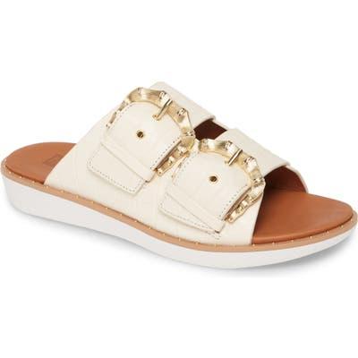 Fitflop Kaia Slide Sandal, Ivory