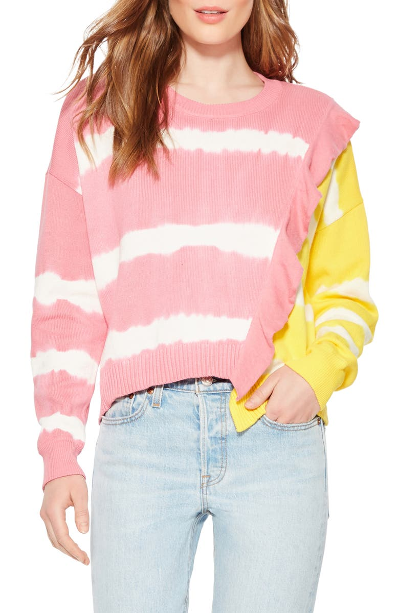 PARKER Jorja Combo Sweater, Main, color, 650