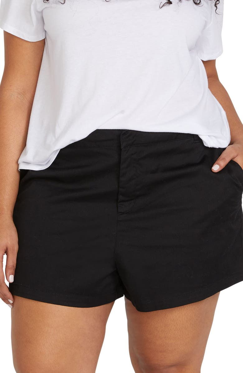 VOLCOM Frochickie Chino Shorts, Main, color, 005