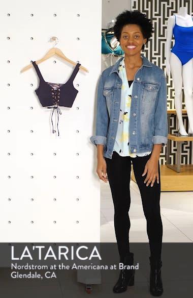Dazzling 4-Way Piqué Reversible Bikini Top, sales video thumbnail