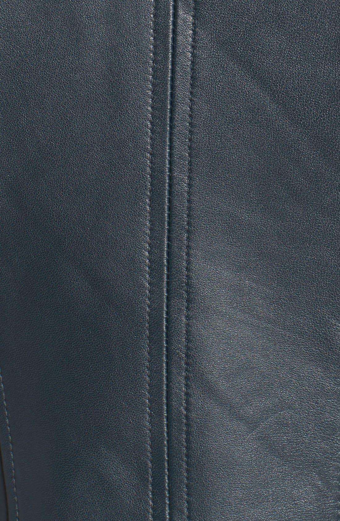 ,                             Zip Detail Moto Jacket,                             Alternate thumbnail 9, color,                             431