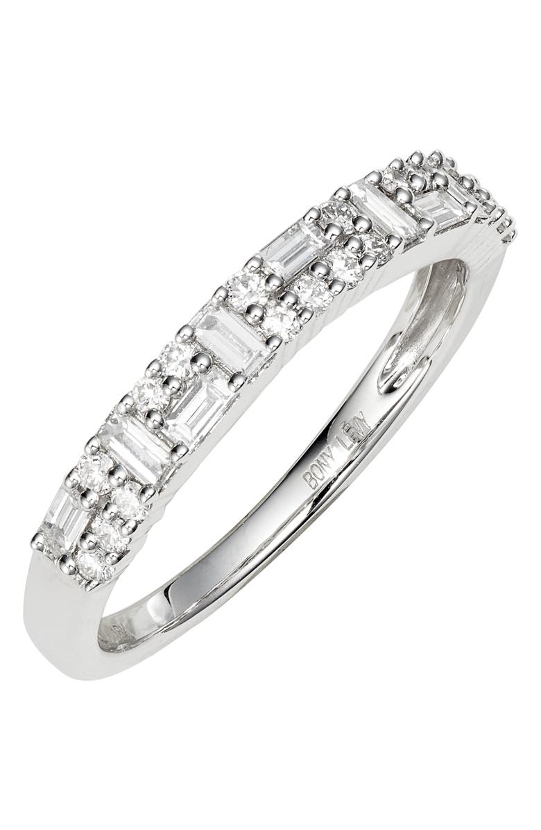 Bony Levy Gatsby Mixed Diamond Stacking Ring Exclusive