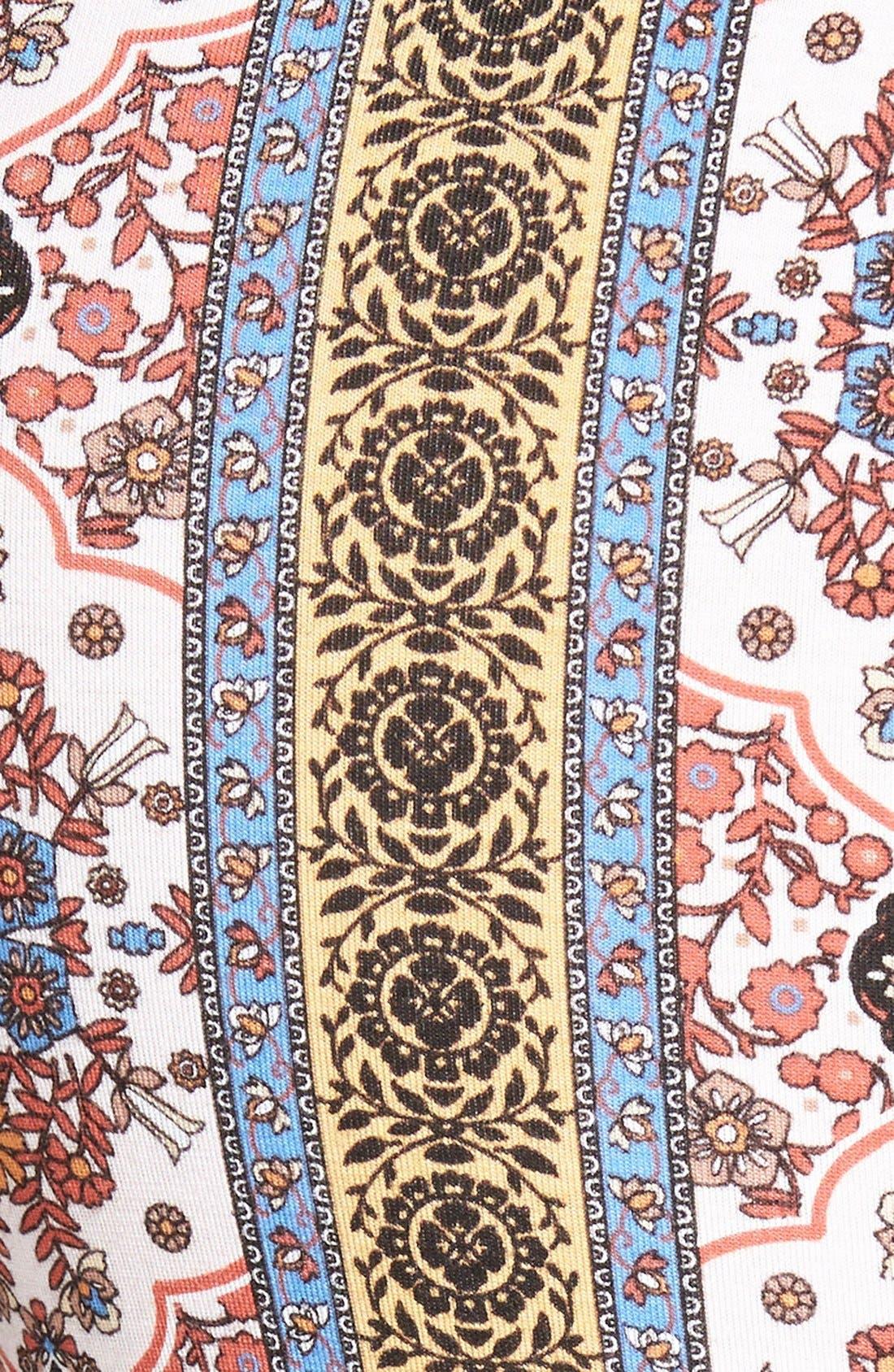 ,                             Mixed Print Flare Leg Pants,                             Alternate thumbnail 115, color,                             900