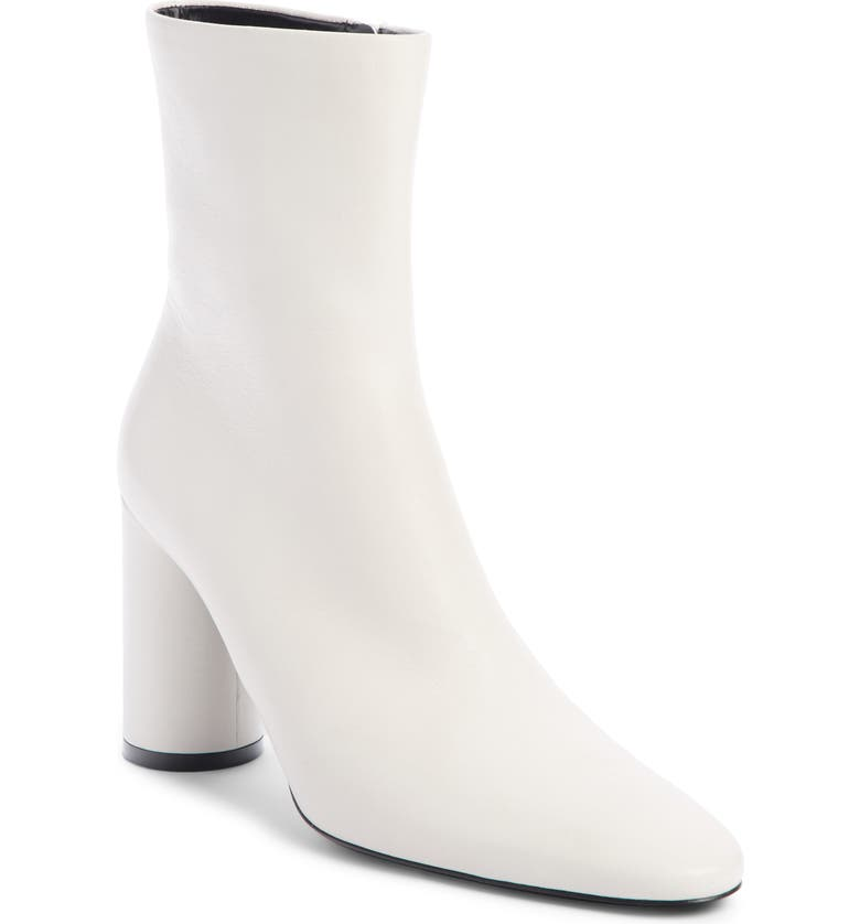BALENCIAGA Oval Bootie, Main, color, WHITE