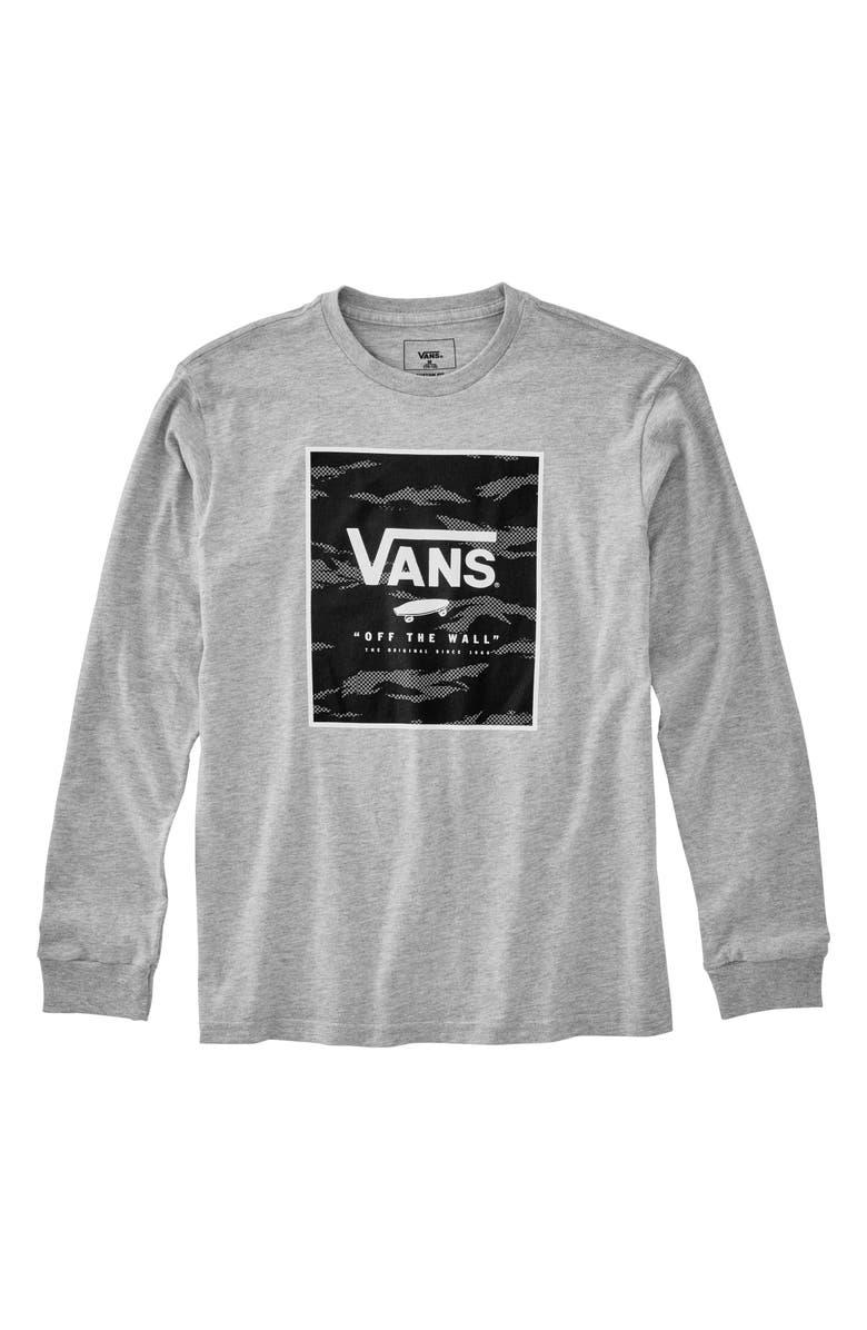 32100bca1d Vans Logo Print Box T-Shirt (Big Boys) | Nordstrom