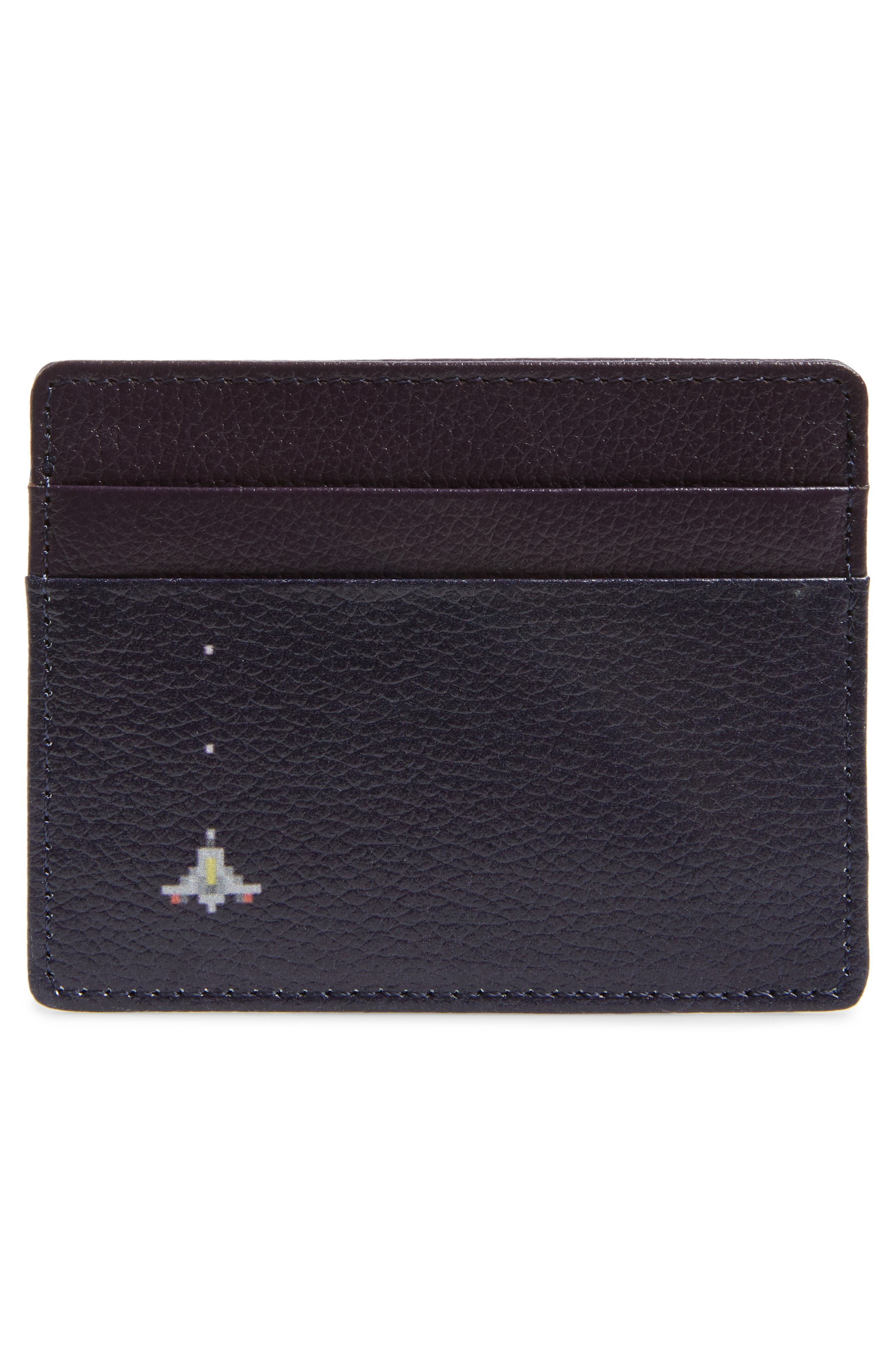 ,                             Jamie Leather Card Case,                             Alternate thumbnail 50, color,                             501