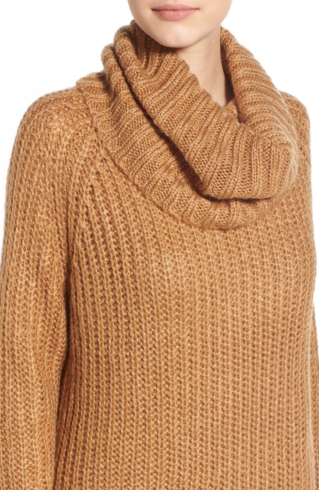 ,                             Cowl Neck Sweater,                             Alternate thumbnail 21, color,                             230