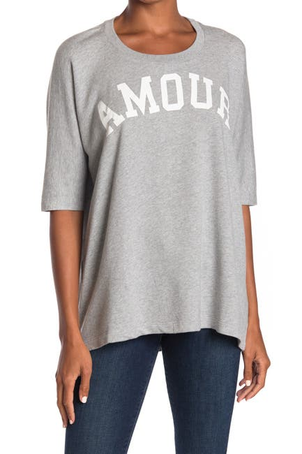 Image of Zadig & Voltaire Portland Amour Print T-Shirt