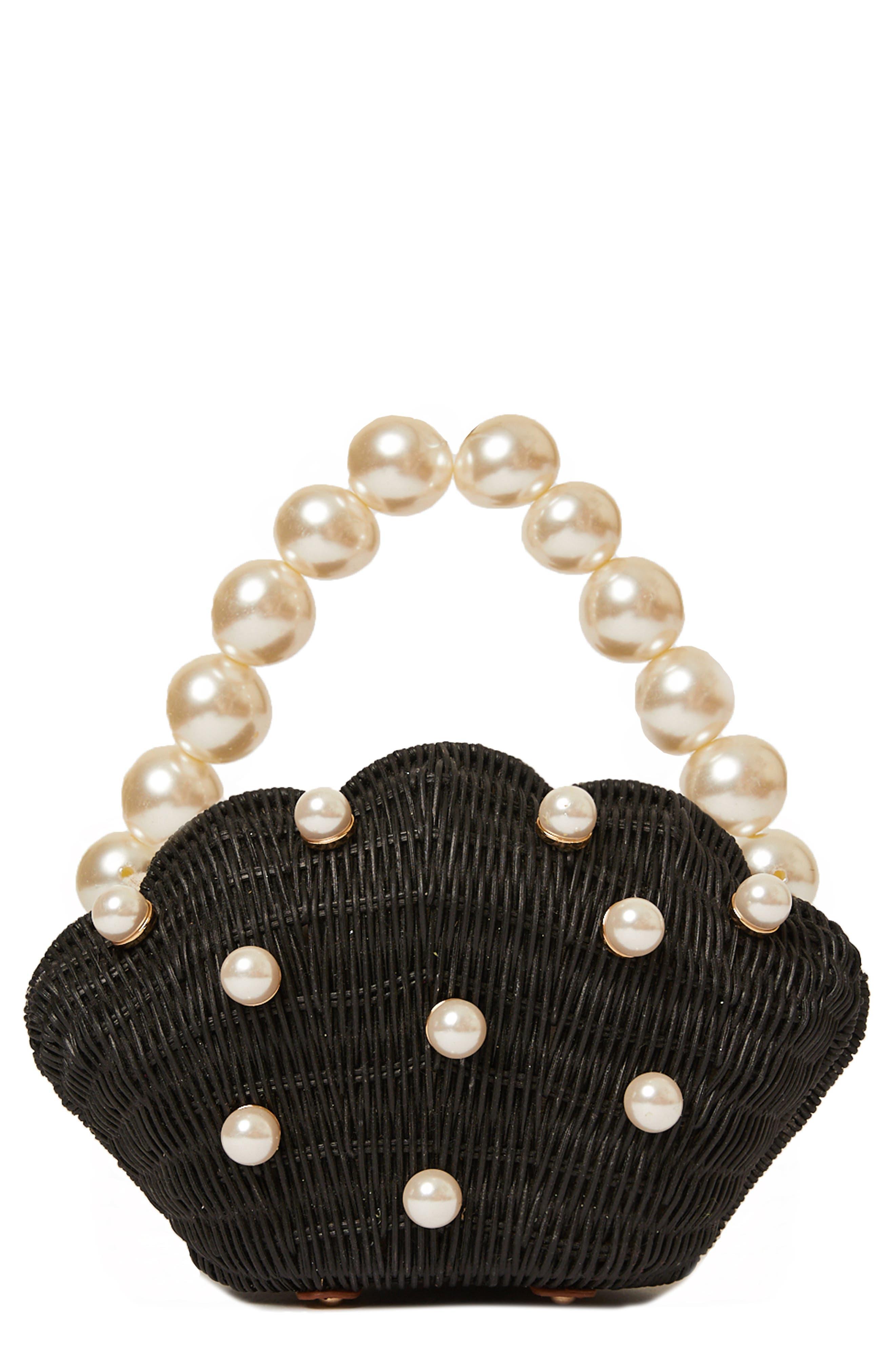 Shelly Imitation Pearl Bag