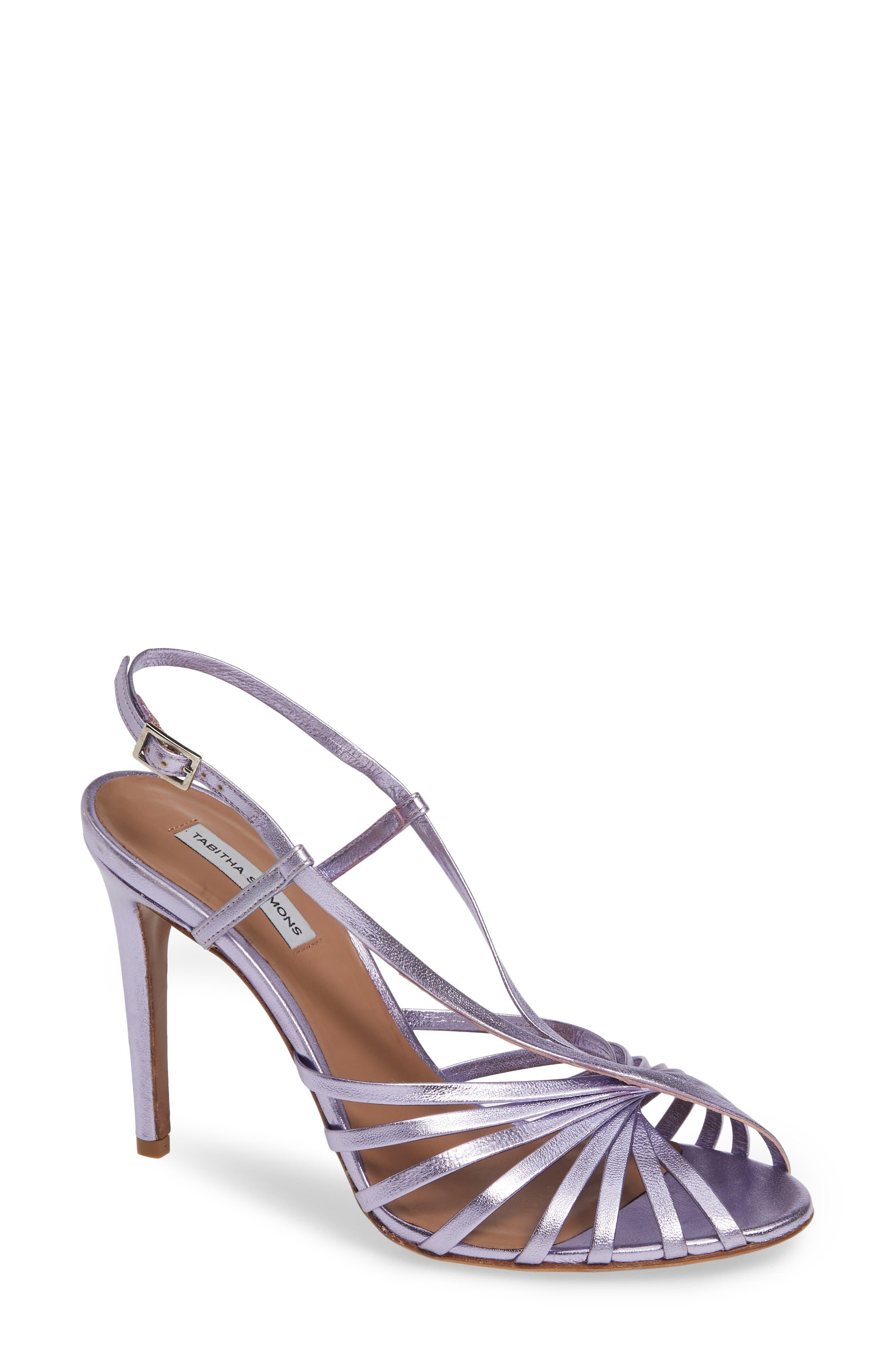 Tabitha Simmons Jazz Strappy Sandal - Purple