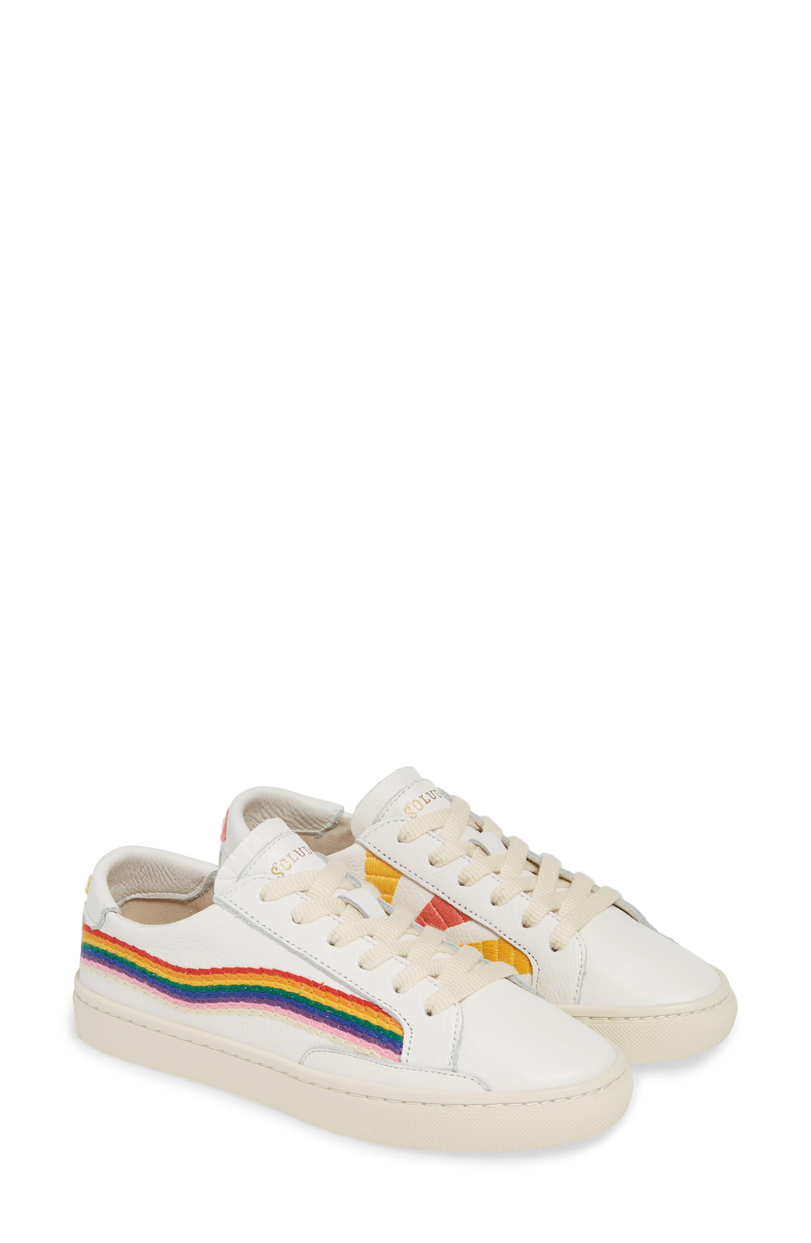 Soludos Rainbow Wave Sneaker (Women