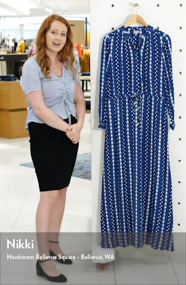 Long Sleeve Button Maxi Dress, sales video thumbnail