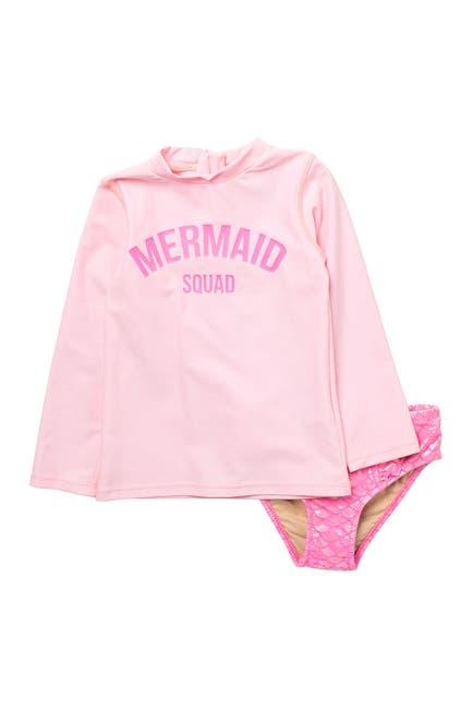 Image of Shade Critters Mermaid Squad Rash Guard Set