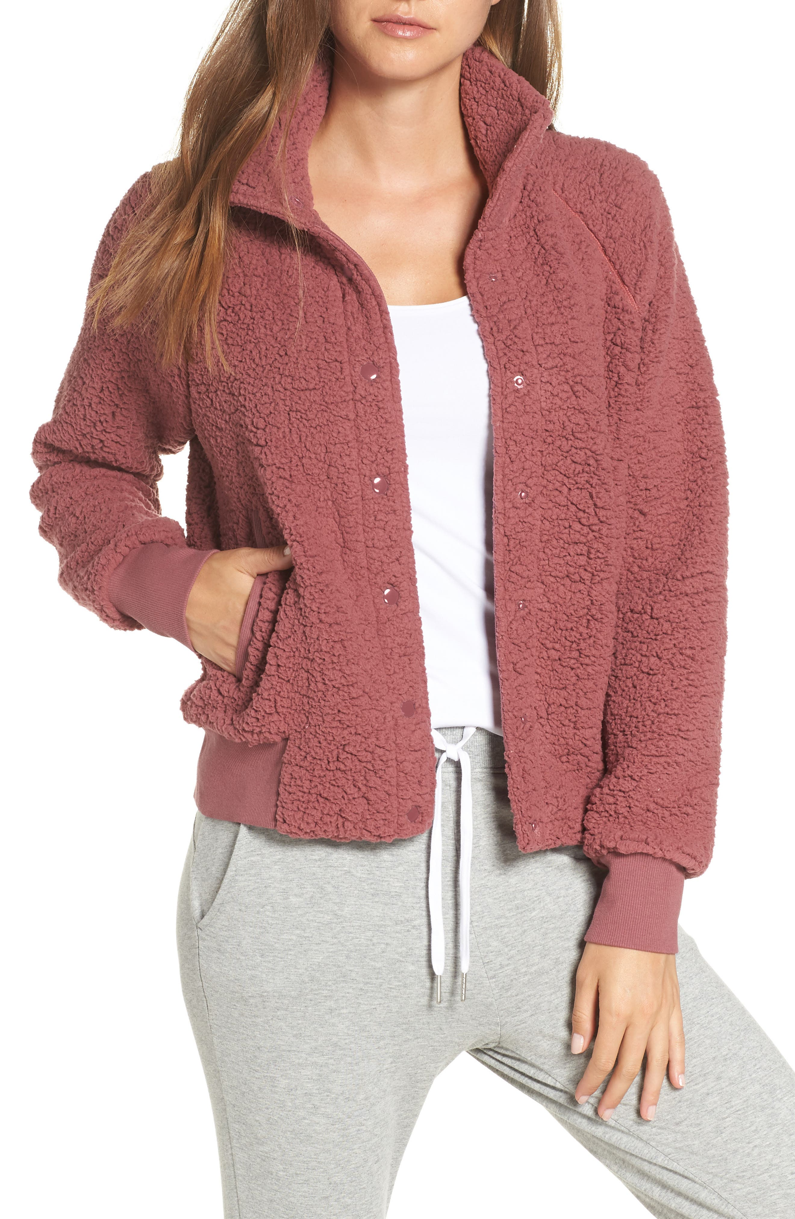 Cozy Up Bomber Jacket, Main, color, 938
