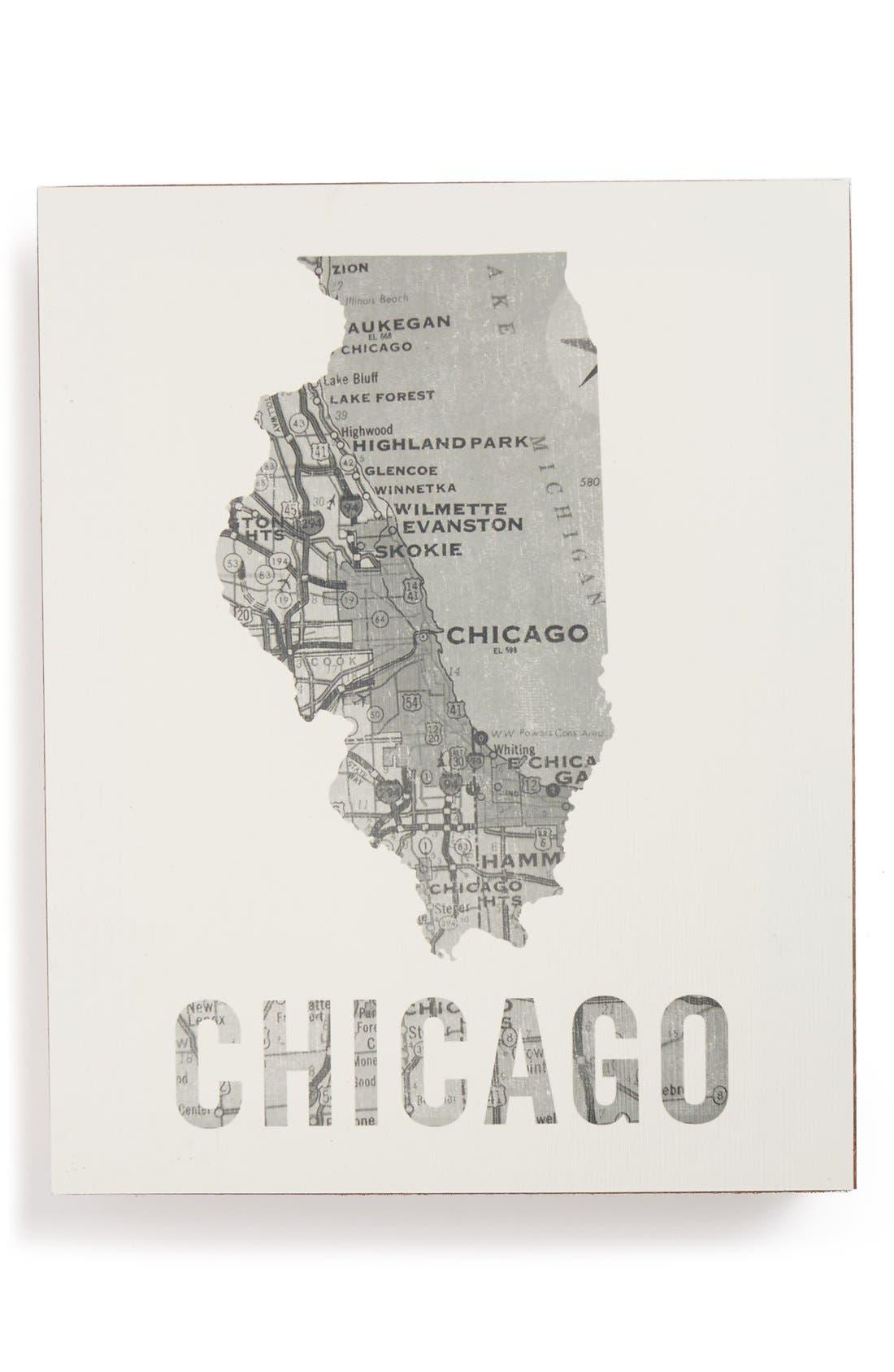 ,                             City Map Wall Art,                             Main thumbnail 9, color,                             028
