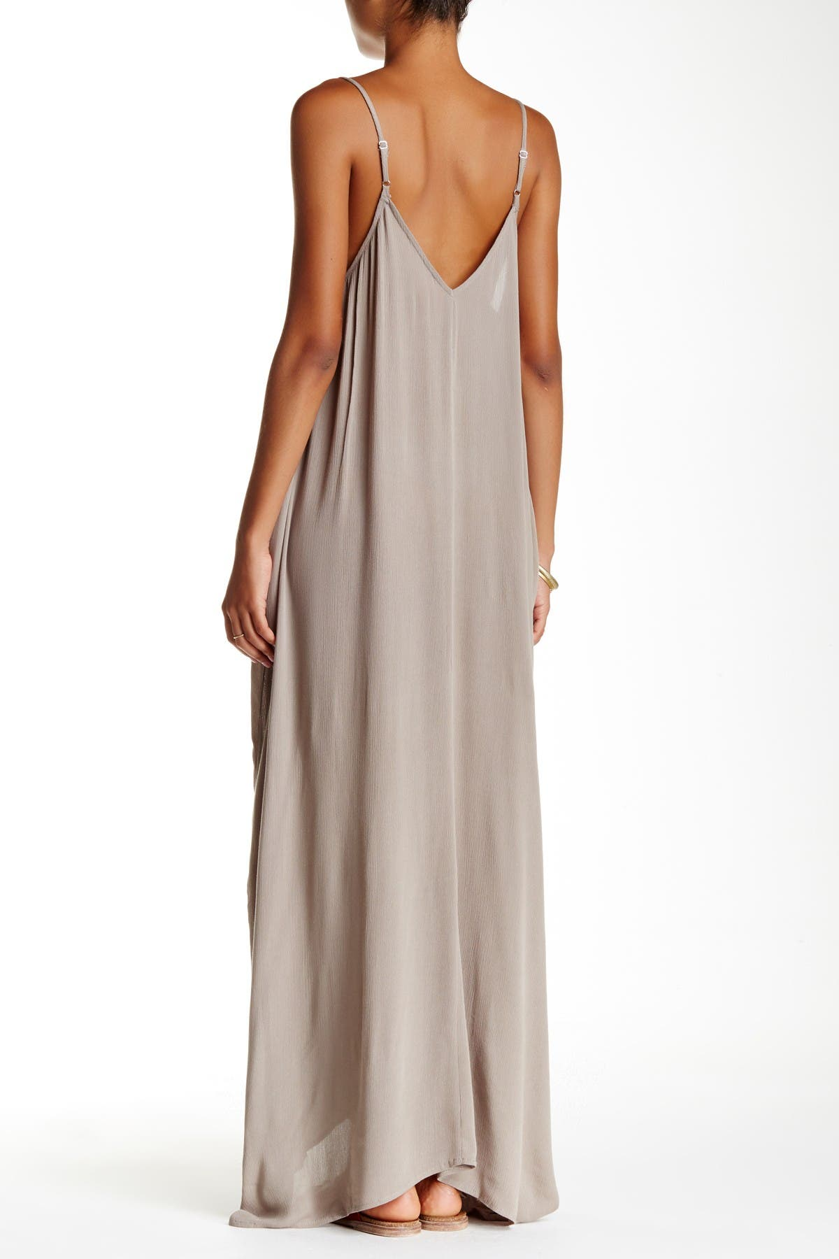 Image of Love Stitch Gauze Maxi Dress