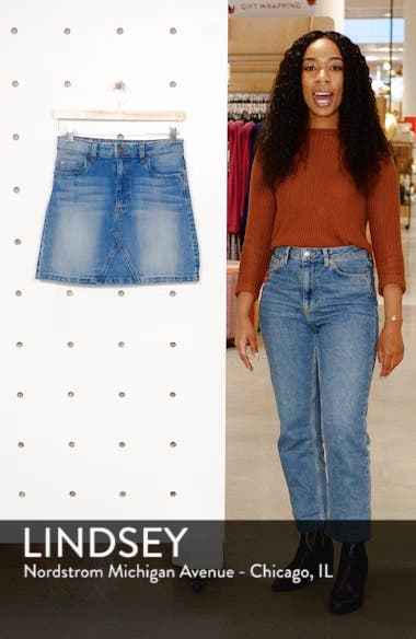 STS Blue Meghan Denim Miniskirt, sales video thumbnail
