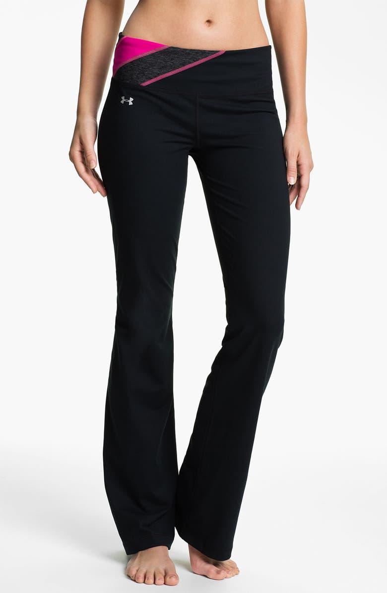 UNDER ARMOUR 'Perfect Shape' Pants, Main, color, 003