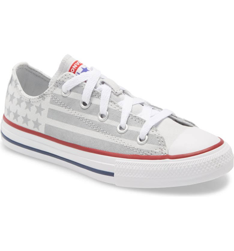 CONVERSE Chuck Taylor<sup>®</sup> All Star<sup>®</sup> Ox Low Top Sneaker, Main, color, PHOTON DUST/ DOLPHIN/ WHITE