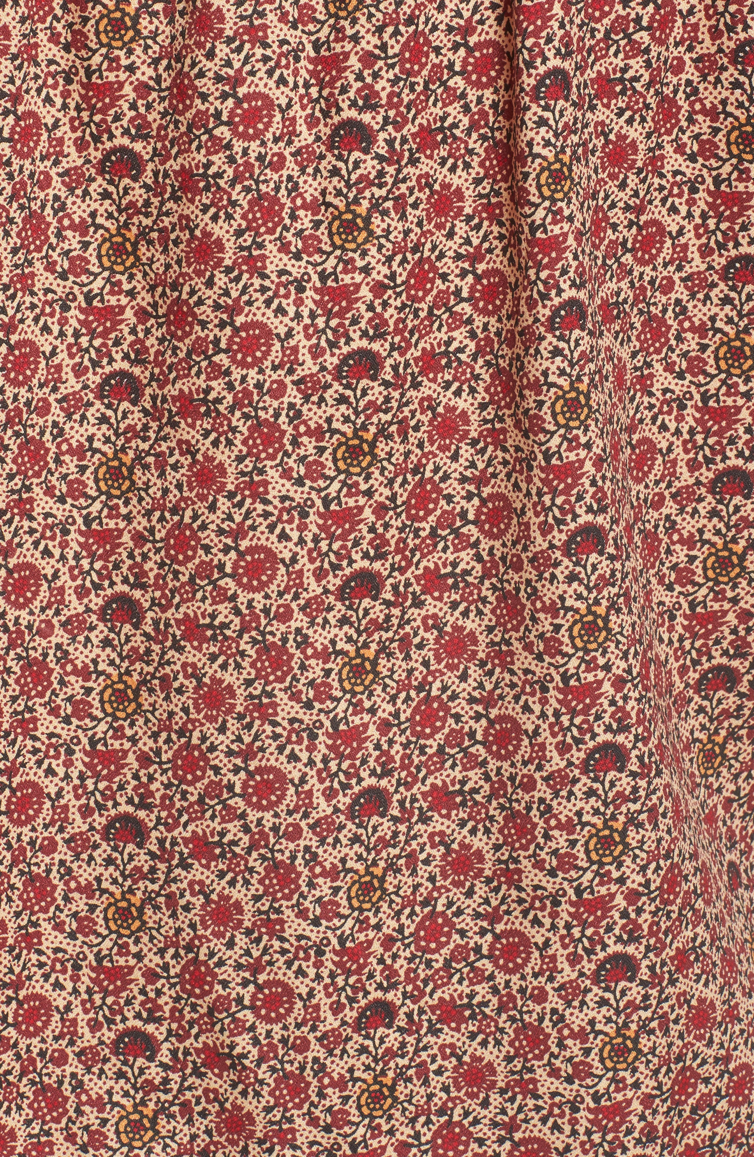 ,                             Ruffle Detail Popover Blouse,                             Alternate thumbnail 17, color,                             270